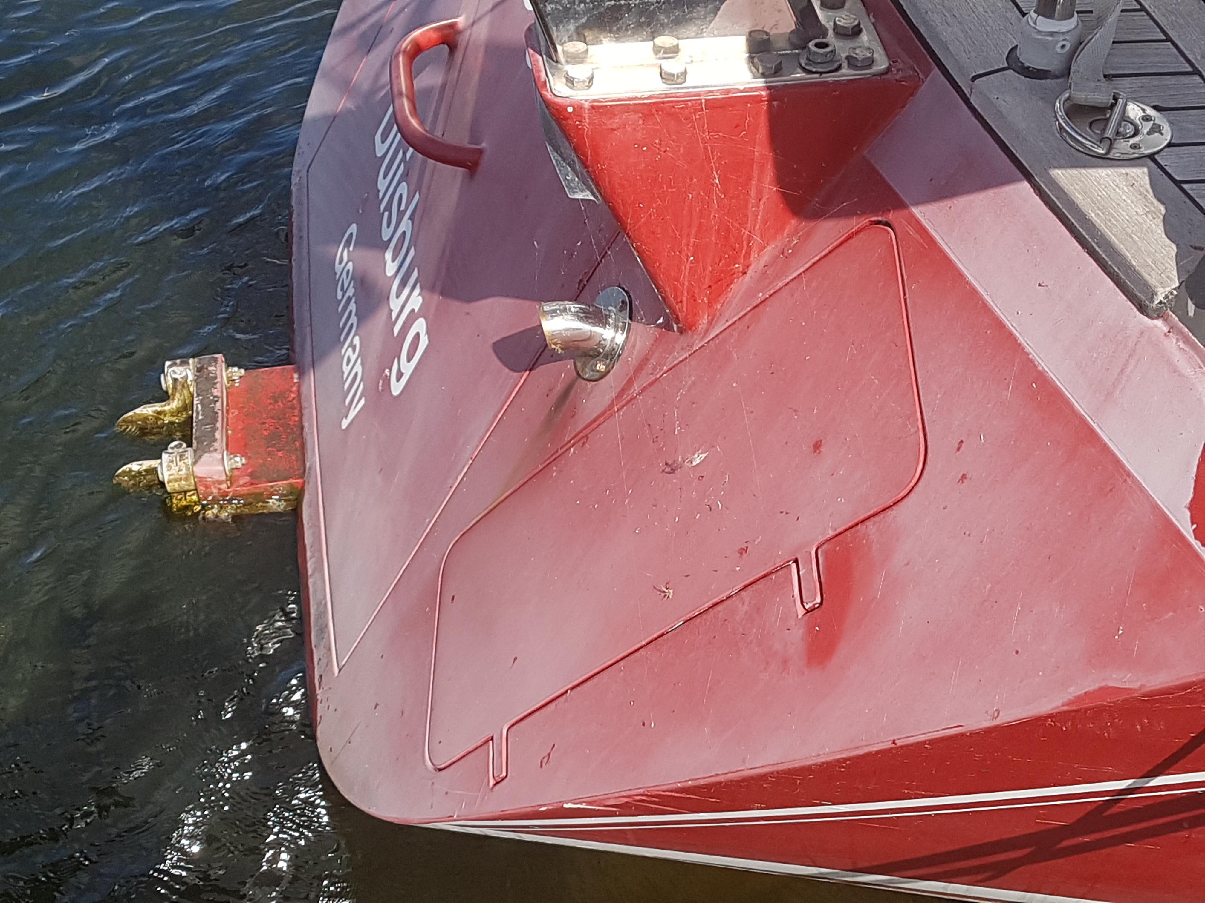Lackiertes Boot von Wrede nach 5 Jahren